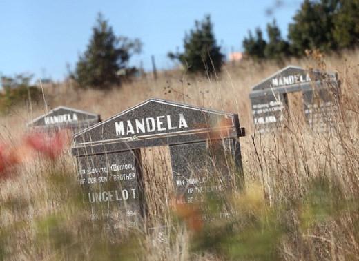 Nelson Mandela's tomb