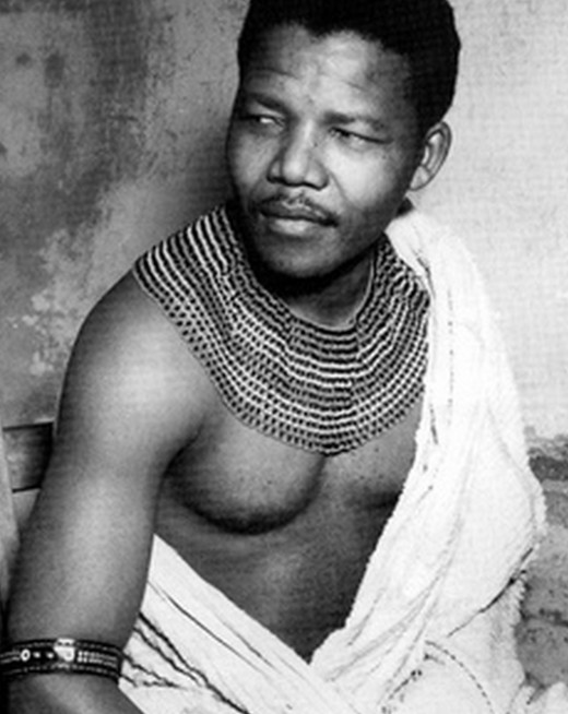 Nelson Mandela - young picture