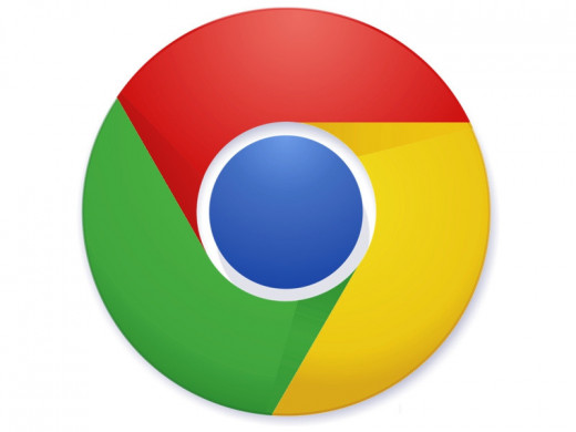 The Google Chrome logo.