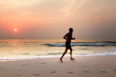 Begin with walking and running