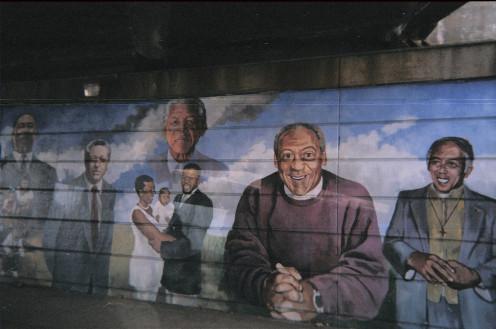mural in North Philadelphia
