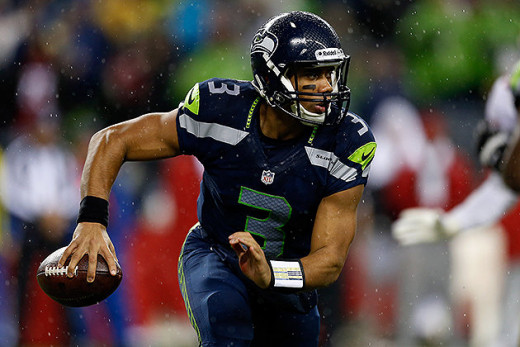 Seattle quarterback Russell Wilson has looked like a veteran all year