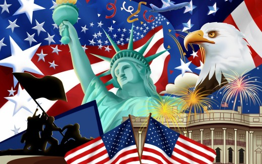Free HQ American Flag 1680x1050 Wallpaper - Free HQ Wallpapers  wallpapersdepo.net