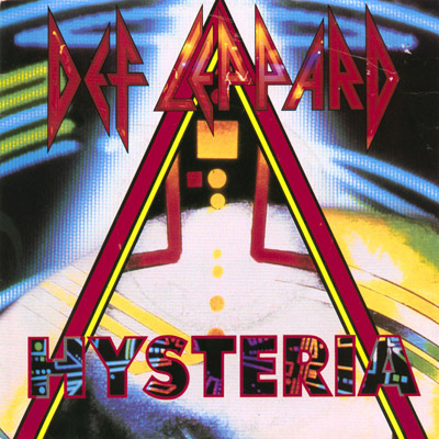 """Hysteria"" single cover."