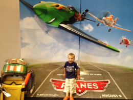 Seeing the Planes movie was definitely a highlight of my son's summer!