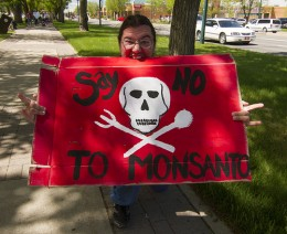 March Against Monsanto Lethbridge