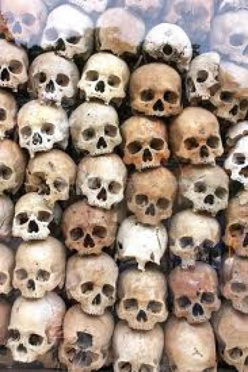 Genocide Memorial in Cambodia