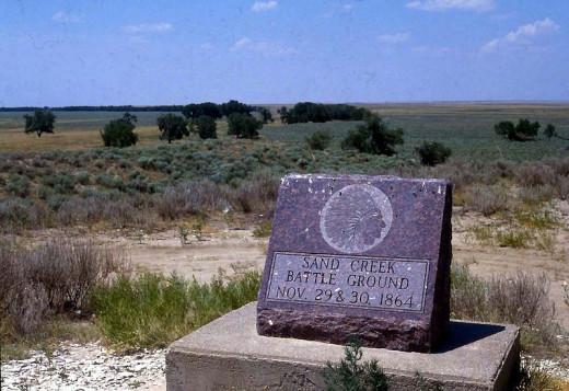 Sand Creek massacre Site