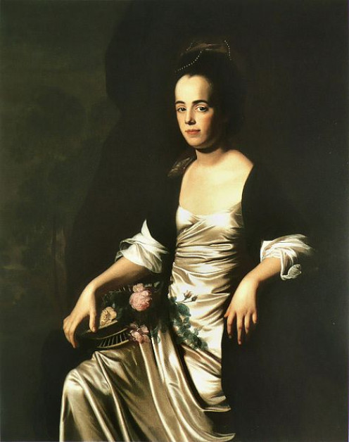 Portrait of Mrs. John Stevens (Judith Sargent, later Mrs. John Murray)