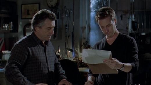 Nick Wells (De Niro) and Jack Teller (Norton)
