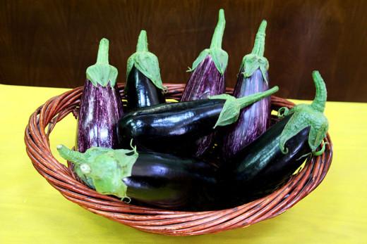 Eggplant photo taken by Rémi Jouan