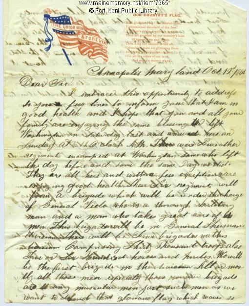 civil war letters american civil war union infantryman in camp 1128