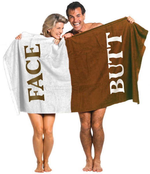 The Butt-Face Towel!