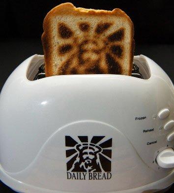 Jesus Toaster!