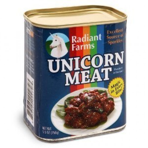 A Can of Unicorn Meat!