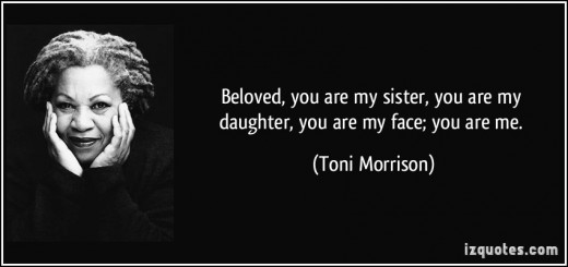 an analysis of toni morrisons story beloved Beloved notes & analysis  these free notes also contain quotes and themes & topics on beloved by toni morrison  much of the information that weaves the story .