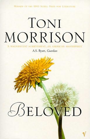 Cover to Toni Morrison's book, Beloved