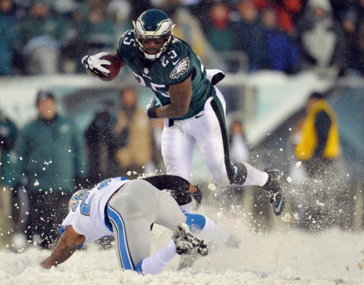 NFL Rushing Leader LeSean McCoy