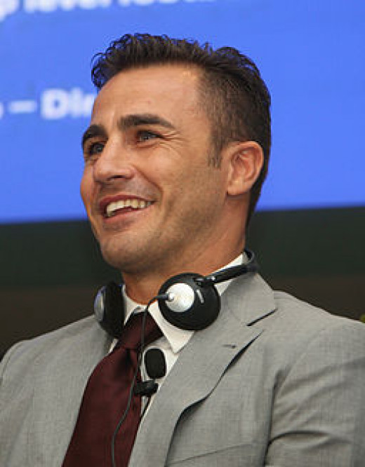 Fabio Cannavaro, a rock for Italy