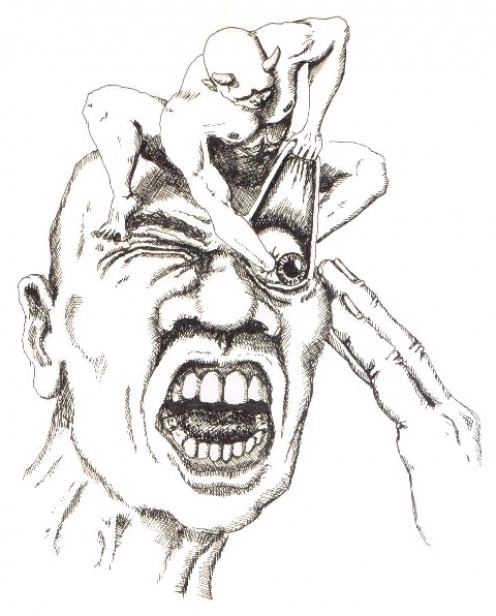 If you experience exploding head syndrome then you might be able to relate to this illustration.