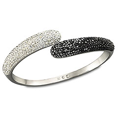 Swarovski  Louise Black and White Bangle