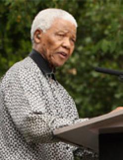 The Powerful Smile Of Nelson Mandela