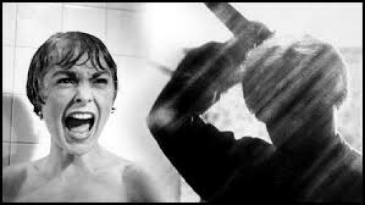 Physical terror is what gives good horror movies its name.The victim is terrified then IT appears.The monster/phantom has its hand raised or there is an object in its hand. It coming closer. closer.The victim is.mortified as what will happen NEXT.