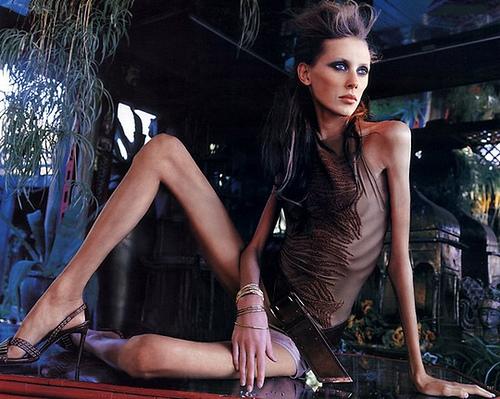 skinny model from propagandaIDMI