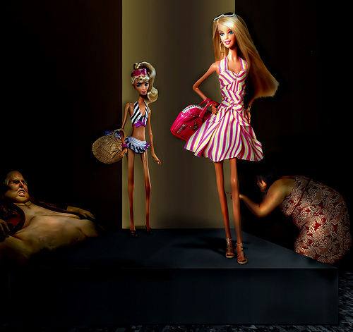 Fashion Barbie from David Blackwell flickr.com