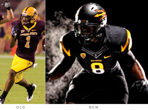 Number 1) Arizona State!!!  Congrats boyz..., this transformation is incredible