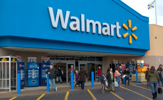 Walmart Store.