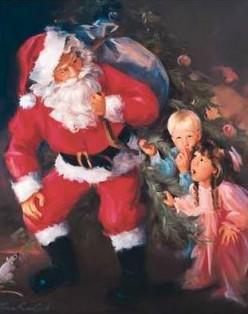 Santa saved Christmas!