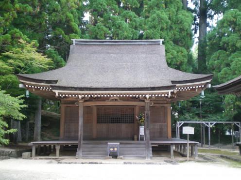An ancient tea-house, Koya-san © A Harrison