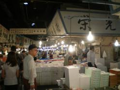Tokyo Fish Markets © A Harrison