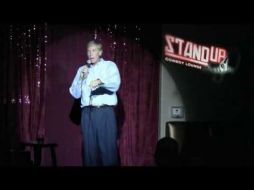 When I began stand-up, I never thought about hecklers... Until I got one!    Performing at Stand Up, Sangria the forerunner to Stand Up, Scottsdale.
