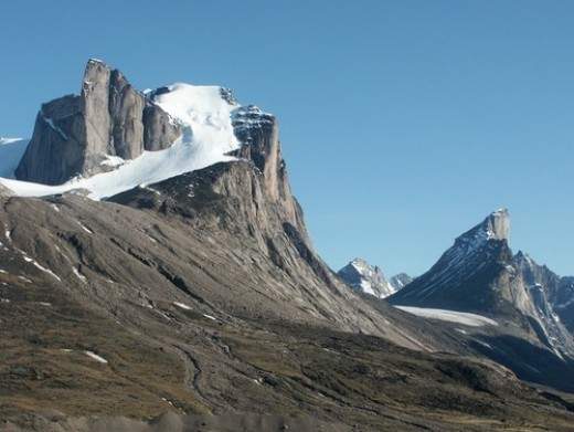 This peak in Canada is named after Breidablik, the legendary home of Balder.