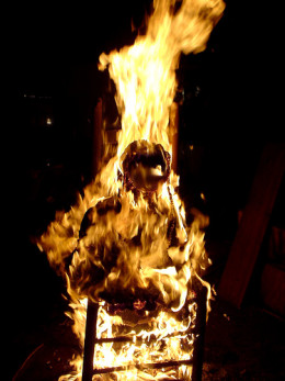 Consumed by fire from Je Kemp flickr.com