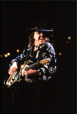 Stevie Ray Vaughan and guitar players like him helped make the Fender Stratocaster famous.
