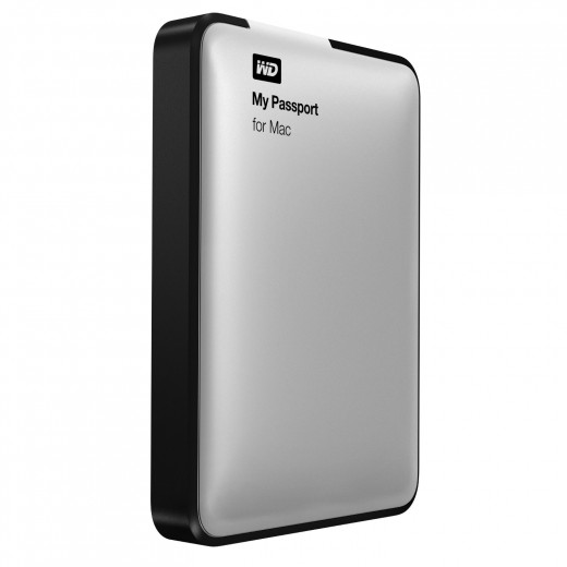 WD My Passport for Mac 1TB Portable External Hard Drive USB 3.0