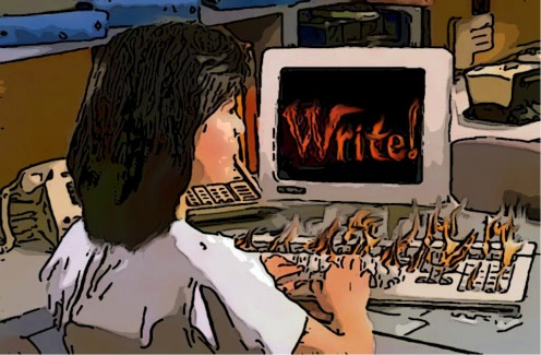 """Are you willing to discover what will get you to make the """"fiery commitment"""" it takes to start and finish your first novel?"""