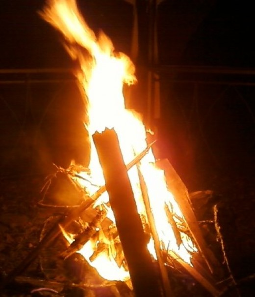 Fire is the last and fiercest of the elements sought by Frigga.