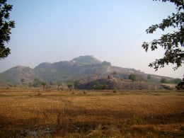 The Mandar Hills from a distance 2