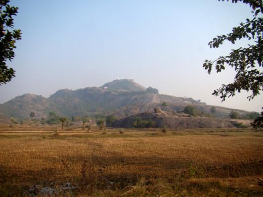 The Mandar Hills from a distance 2