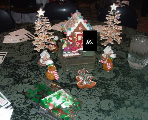 The Gingerbread Dinner Table