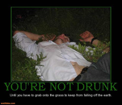 What was your most embarrassing moment after you had one too many drinks ?