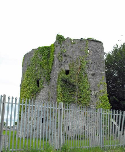Remains of Clare Castle