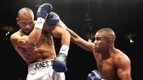 In a battle of two fighters past their prime, Roy Jones, Jr. beat Felix Trinidad by twelve round decision.