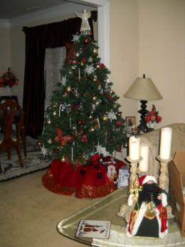 Tree, Santa, Candles