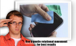 We suggest that you use a gentle rotational movement for best results