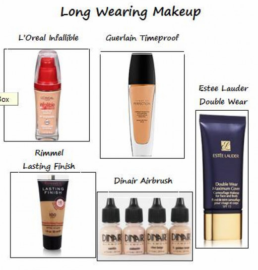 Select a long wearing foundation